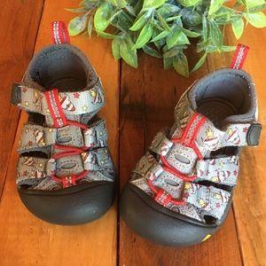 KEEN Kids Sandals - Rocketship Pattern